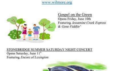 Summer Concert Weekends in Wilmore!