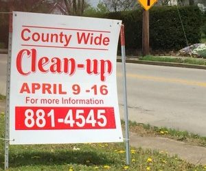 County-Wide Clean-up April 9-16!