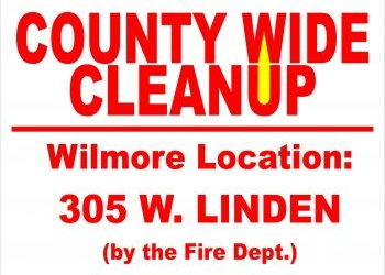 March 24-31 is the County-wide Clean-up!