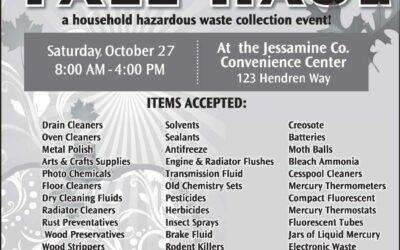 Jessamine County Fall Haul is Saturday Oct. 27
