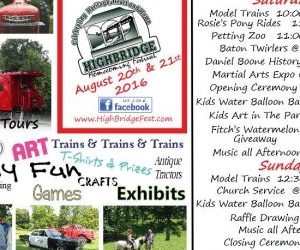 Join us for the 2017 Highbridge Homecoming!