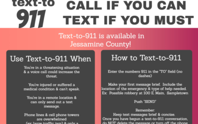 Now Available in Jessamine County: Text-to-911