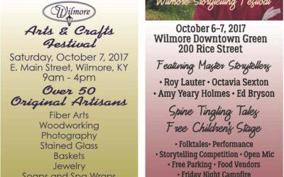 Festival Weekend in Wilmore: Arts, Crafts & Storytelling!