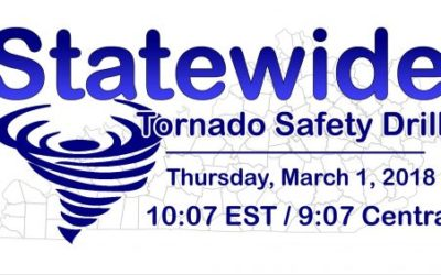 Statewide Tornado Drill on Thursday March 1