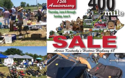 400 Mile Yard Sale in Wilmore June 6-9!